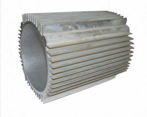 Powder Coated  Motor Casing General Aluminum Frame Extrusions